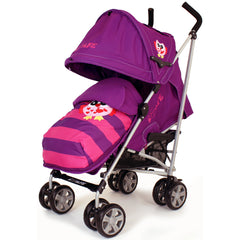iSafe Buggy Stroller Pushchair Owl & Button Complete Package - Baby Travel UK  - 5