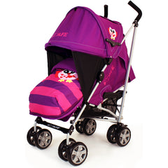 iSafe Buggy Stroller Pushchair Owl & Button Complete Package - Baby Travel UK  - 2