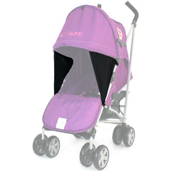 iSafe Owl & Button Stroller Complete With footmuff, Changing Bag, Raincover & Bumper Bar - Baby Travel UK  - 5