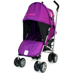 iSafe Buggy Stroller Pushchair Owl & Button Complete Package - Baby Travel UK  - 11