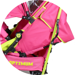 iSafe - OPTIMUM Stroller - Mea LUX Design The Best Stroller In The World! - Baby Travel UK  - 3