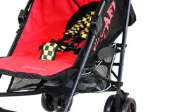 iSafe buggy Stroller Pushchair - Racer (Complete With Bumper Bar & Rain cover) - Baby Travel UK  - 8