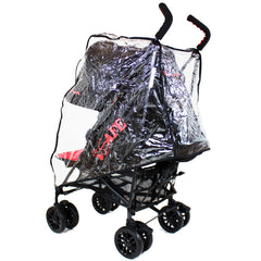 iSafe buggy Stroller Pushchair - Racer (Complete With Bumper Bar & Rain cover) - Baby Travel UK  - 7