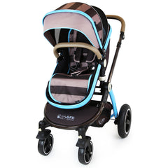 i-Safe System - i DiD iT Trio Travel System Pram & Luxury Stroller 3 in 1 Complete With Car Seat + Changing Bag + Rain Covers - Baby Travel UK  - 6