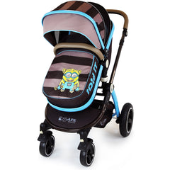 i-Safe System - i DiD iT Trio Travel System Pram & Luxury Stroller 3 in 1 Complete With Car Seat + Changing Bag + Rain Covers - Baby Travel UK  - 8