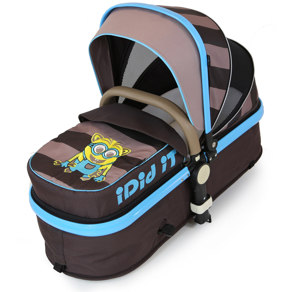 i-Safe - i DiD iT Pram & Luxury Stroller 2in1 Complete With Bag And Rain Cover - Baby Travel UK  - 4