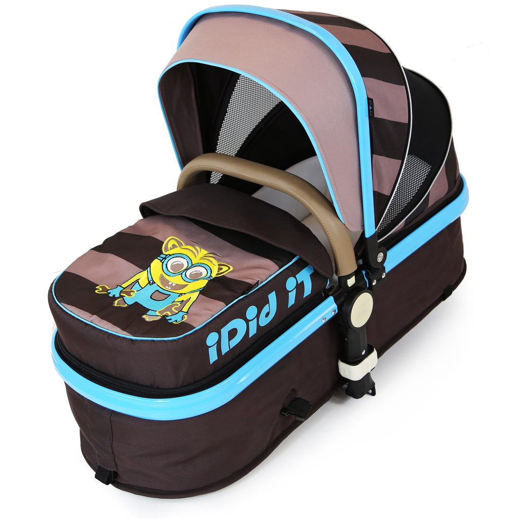i-Safe - i DiD iT Pram & Luxury Stroller 2in1 Complete With Bag And Rain Cover - Baby Travel UK  - 9