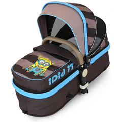 i-Safe System - i DiD iT Trio Travel System Pram & Luxury Stroller 3 in 1 Complete With Car Seat + Changing Bag + Rain Covers - Baby Travel UK  - 5