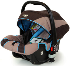 i-Safe System - i DiD iT Trio Travel System Pram & Luxury Stroller 3 in 1 Complete With Car Seat - Baby Travel UK  - 10