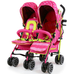 iSafe TWIN OPTIMUM Stroller Mea LUX + Matching Changing Bag - Baby Travel UK  - 3