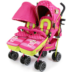 iSafe TWIN OPTIMUM Stroller Mea LUX + Matching Changing Bag - Baby Travel UK  - 5
