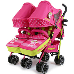 iSafe TWIN OPTIMUM Stroller Mea LUX + Matching Changing Bag - Baby Travel UK  - 2