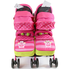 Designer Twin Buggy Baby Pram Optimum - iDiD iT - Baby Travel UK  - 11