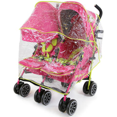 iSafe TWIN OPTIMUM Stroller Mea LUX + Matching Changing Bag - Baby Travel UK  - 8