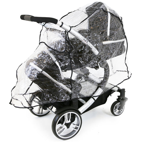 Rain Cover To Fit BabyStyle Hybrid Collection (iSafe Tandem RC)