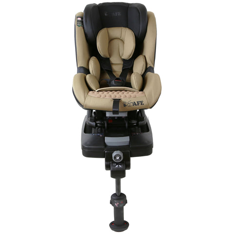 2018 iSafe Aurora iSOFIX Carseat Group 0+1 (Coffee)