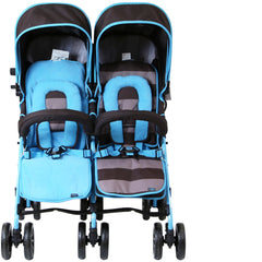 Designer Twin Buggy Baby Pram Optimum - iDiD iT - Baby Travel UK  - 3