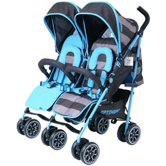 Designer Twin Buggy Baby Pram Optimum - iDiD iT - Baby Travel UK  - 4