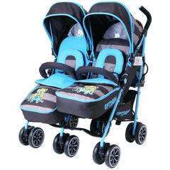 Designer Twin Buggy Baby Pram Optimum - iDiD iT - Baby Travel UK  - 1