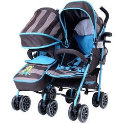 Designer Twin Buggy Baby Pram Optimum - iDiD iT - Baby Travel UK  - 2