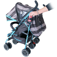 iSafe TWIN OPTIMUM Stroller iDiD iT Design The Best Stroller In The World - Baby Travel UK  - 6
