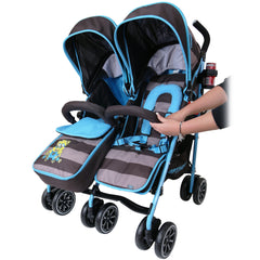 Designer Twin Buggy Baby Pram Optimum - iDiD iT - Baby Travel UK  - 8