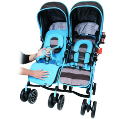 Designer Twin Buggy Baby Pram Optimum - iDiD iT - Baby Travel UK  - 10