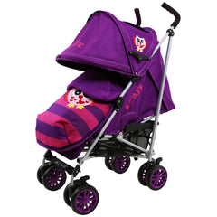 iSafe Owl & Button Stroller Complete With footmuff, Changing Bag, Raincover & Bumper Bar - Baby Travel UK  - 6