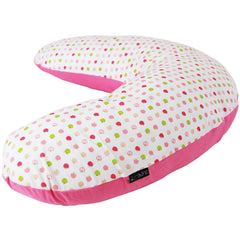 iSafe Pregnancy Maternity And Feeding Pillow Apple Land + Vacuum Storage Bag + Pillow Case - Baby Travel UK  - 3