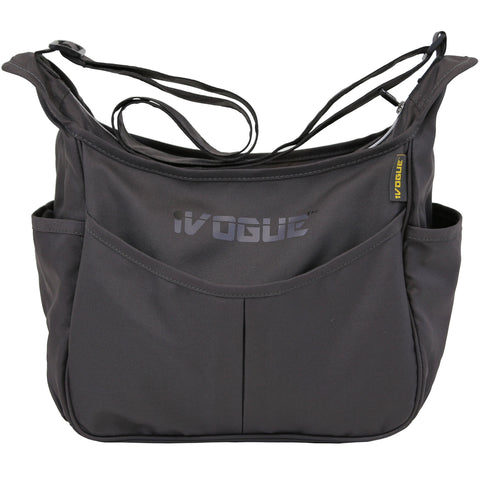iVogue Designer Changing Bag - Silver Shadow