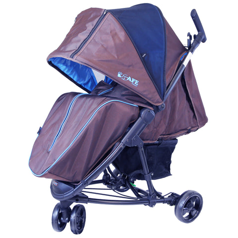Sale Baby Stroller iSafe 3 Wheeler Pram Buggy  Visual 3 Compact