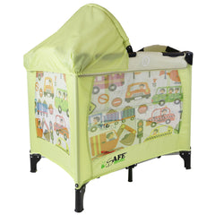 iSafe Mini Travel Cot With Bassinet and Canopy - City Break 81 x 56 x 84 cm Complete With Mattress - Baby Travel UK  - 6