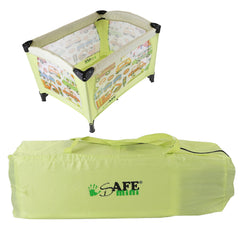 iSafe Mini Travel Cot With Bassinet and Canopy - City Break 81 x 56 x 84 cm Complete With Mattress - Baby Travel UK  - 7