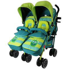TWIN OPTIMUM Stroller Boys Designs - The Best Stroller In The World