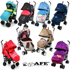 iSAFE Limited Edition Stroller,Buggy,Pushchair - Many Designs!