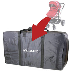 iSafe Baby Pram System 2in1 - Owl & Button Complete With Luggage Travel Bag - Baby Travel UK  - 16