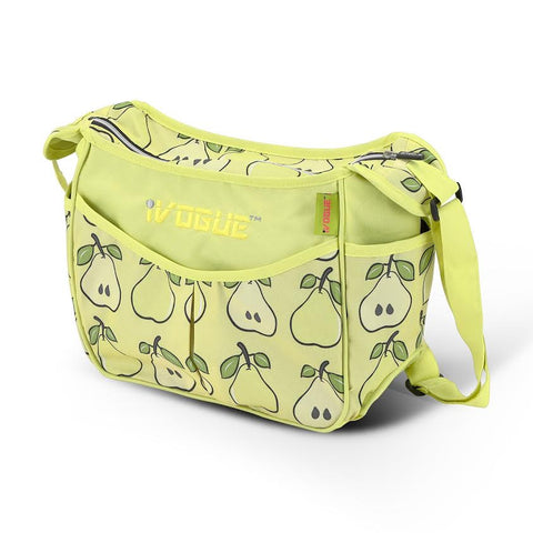 iVogue Designer Changing Bag - Pear (Complete With Changing Mat)