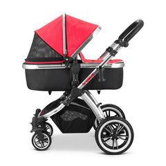 iVogue - Apple Luxury 2in1 Pram Stroller Travel System By iSafe (2017 - 2018) - Baby Travel UK  - 8