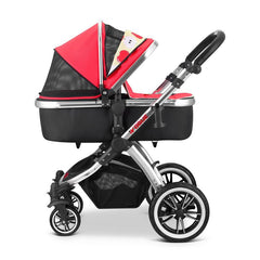 iVogue - Apple Luxury 2in1 Pram Stroller Travel System By iSafe (2017 - 2018) - Baby Travel UK  - 3