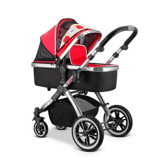 iVogue - Apple Luxury 2in1 Pram Stroller Travel System By iSafe (2017 - 2018) - Baby Travel UK  - 5