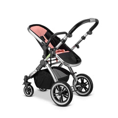 iVogue - Peach Luxury 2in1 Pram Stroller Travel System By iSafe (2017 - 2018) - Baby Travel UK  - 5