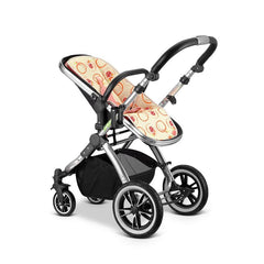 iVogue - Peach Luxury 2in1 Pram Stroller Travel System By iSafe (2017 - 2018) - Baby Travel UK  - 6