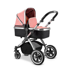 iVogue - Peach Luxury 2in1 Pram Stroller Travel System By iSafe (2017 - 2018) - Baby Travel UK  - 15