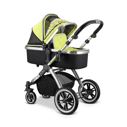 SALE!!! iVogue - Pear Luxury 2in1 (Stroller Only) (Includes Chassis Seat Unit & Carrycot)