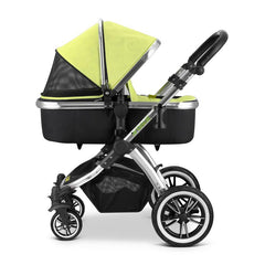 iVogue - Pear Luxury 2in1 Pram Stroller Travel System By iSafe (2017 - 2018) - Baby Travel UK  - 9