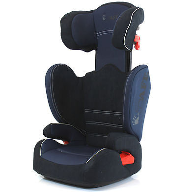 i-Safe Carseat Kid Junior Isofix Group 2-3 Navy 15-36kg