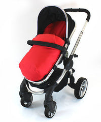 Cosy Toes With Pouches Stroller Liner For iCandy Peach Pear Apple Pram (lite) - Baby Travel UK  - 4