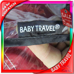 Rain Cover To Fit Icandy Apple, Cherry, Pear, Peach, Professional, Heavy Duty - Baby Travel UK  - 2