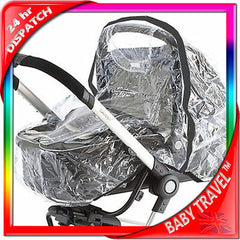Raincover To Fit Bebecar Carrycot Large Rain Cover Pram - Baby Travel UK