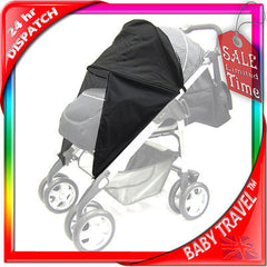 Sunny Sail 3 Wheeler Hauck Citi Stroller Buggy Pram Shade Parasol Substitute - Baby Travel UK  - 3
